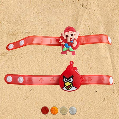 Cartoon Character Kids Rakhi Set