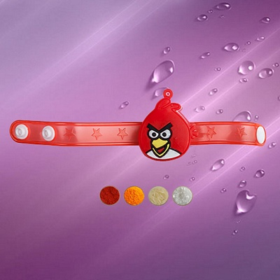 Angry Bird Rakhi Band with Light