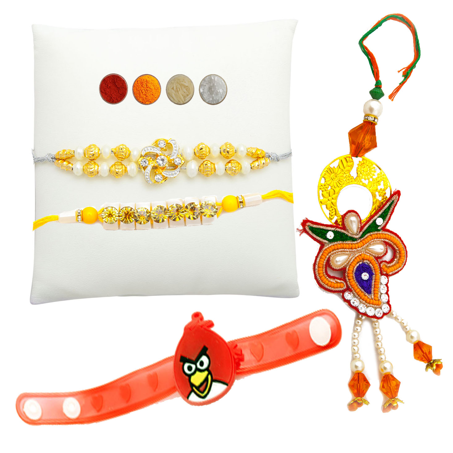 Complete Fancy Family Rakhi Set