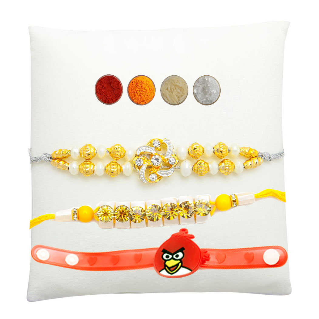 Designer Rakhi Set of Three