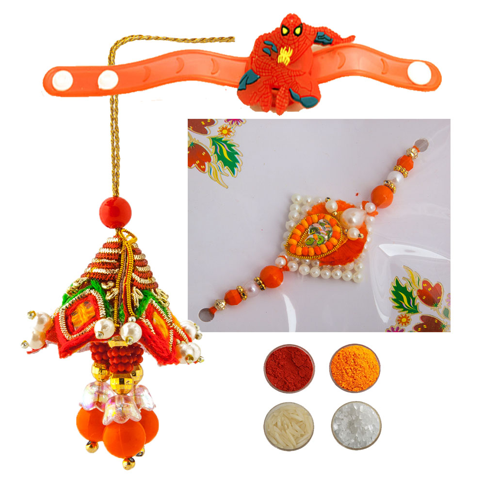 Family Rakhi Set for Bhaiya, Bhabhi and kids
