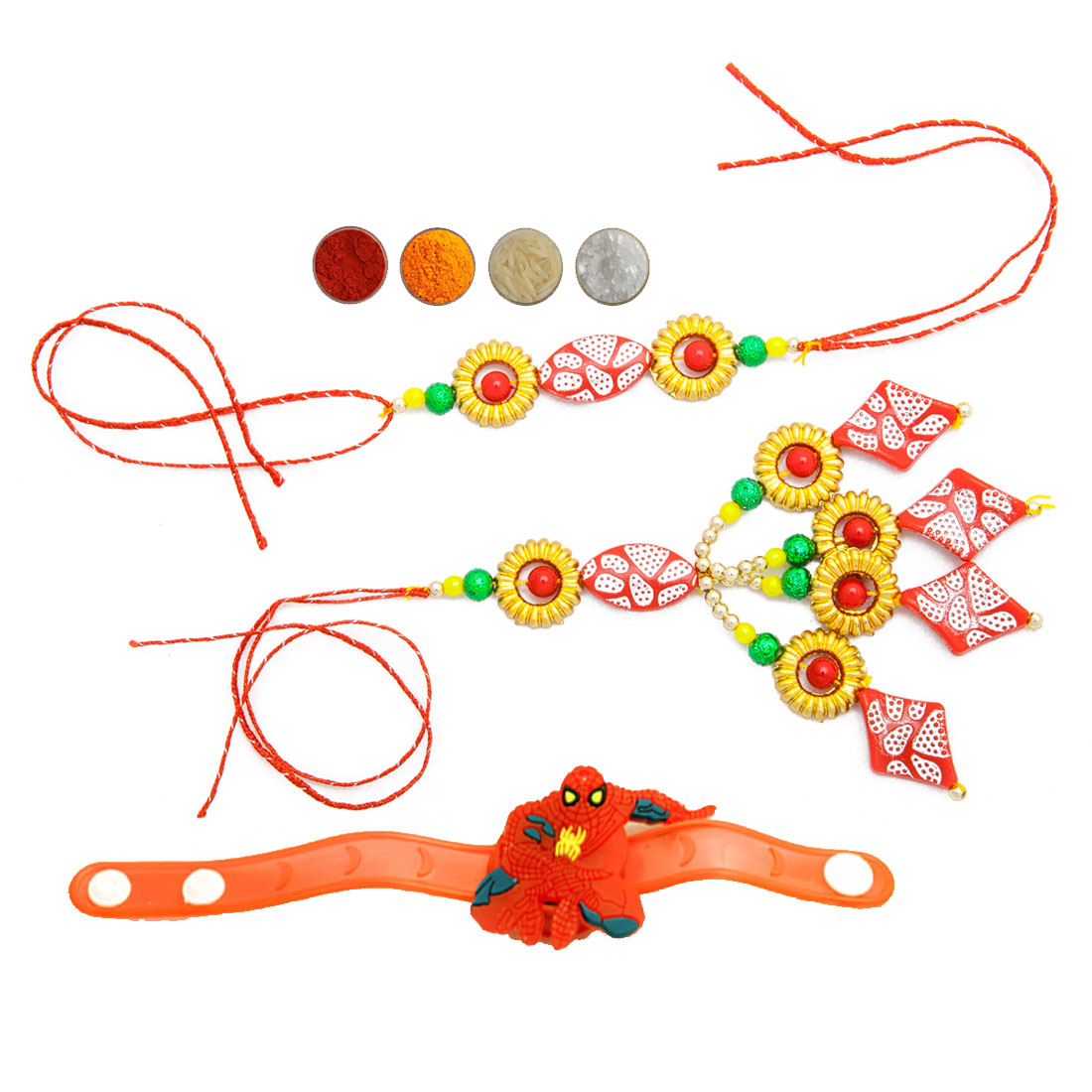 Fancy Family Rakhi Set