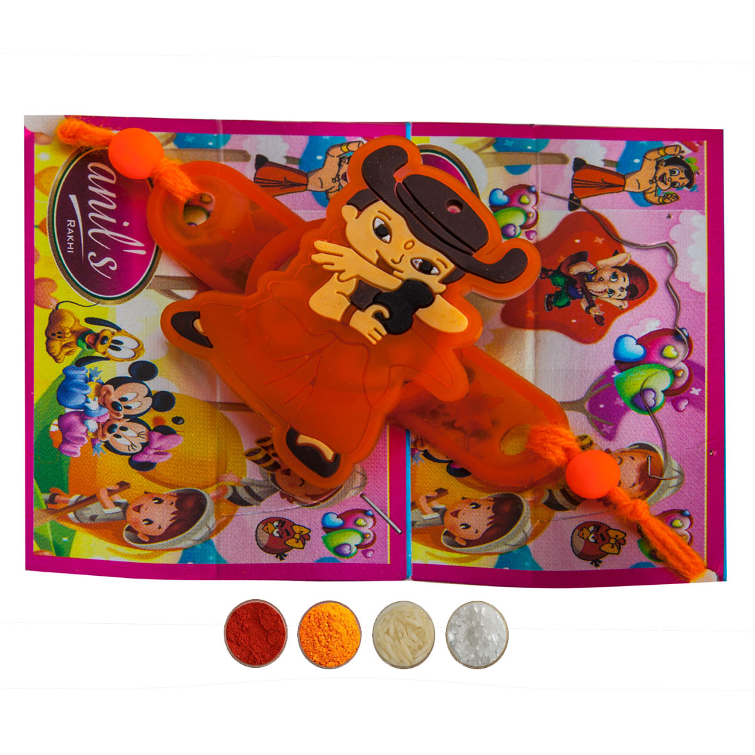 Cartoon Character Special Kids Rakhi