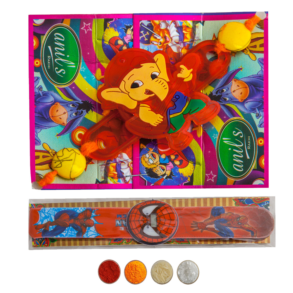 Cartoon Rakhi for Kids Set