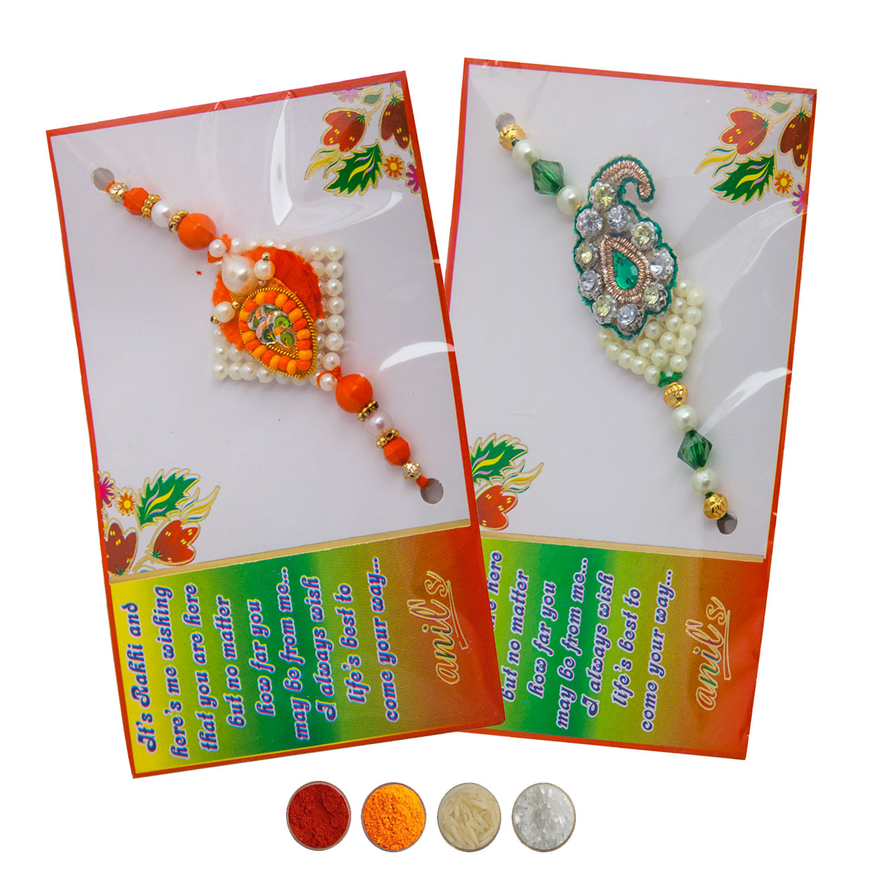 Fancy Rakhi Set of Two