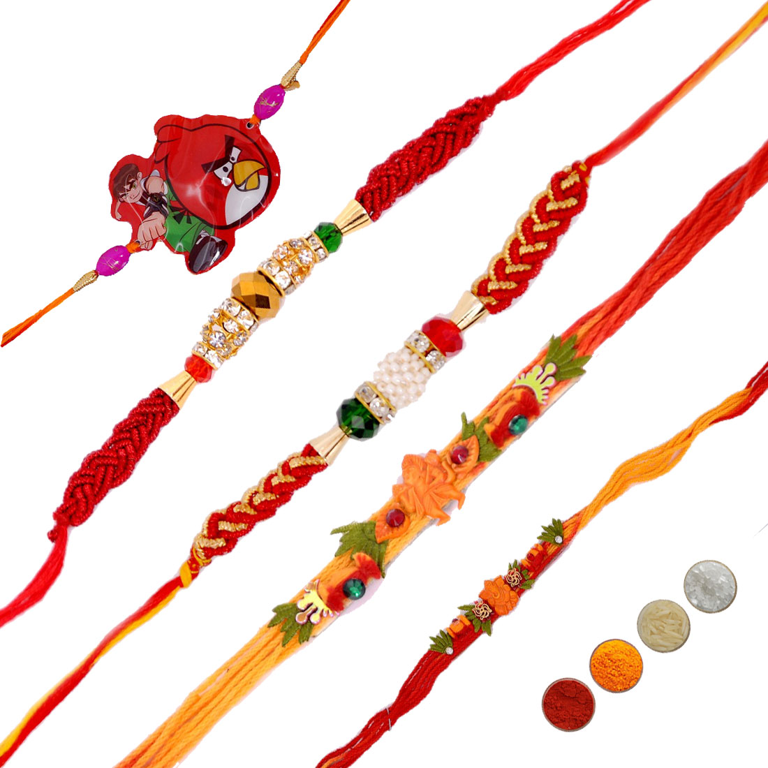 Fancy Rakhi Set of 5