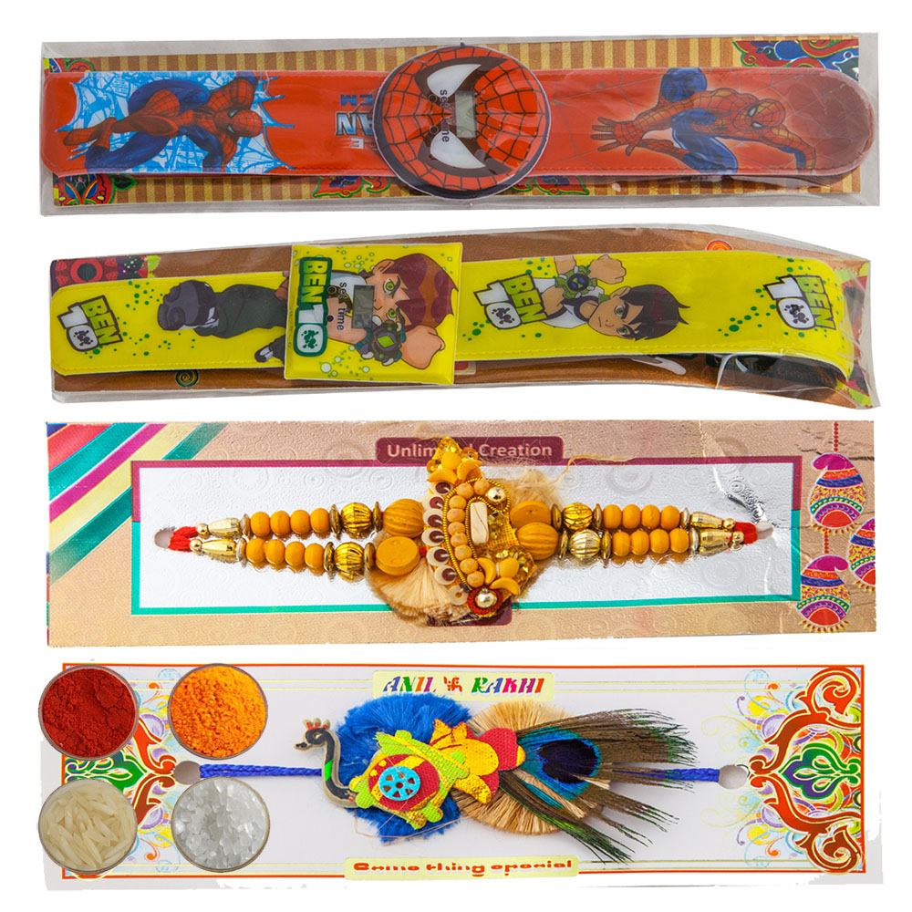 Fancy Rakhi Set for Brothers