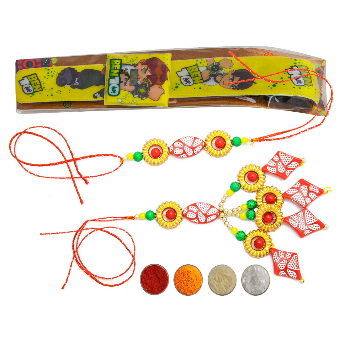 Special Family Rakhi Set of Three