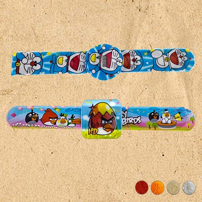 Kids Rakhi Band Set