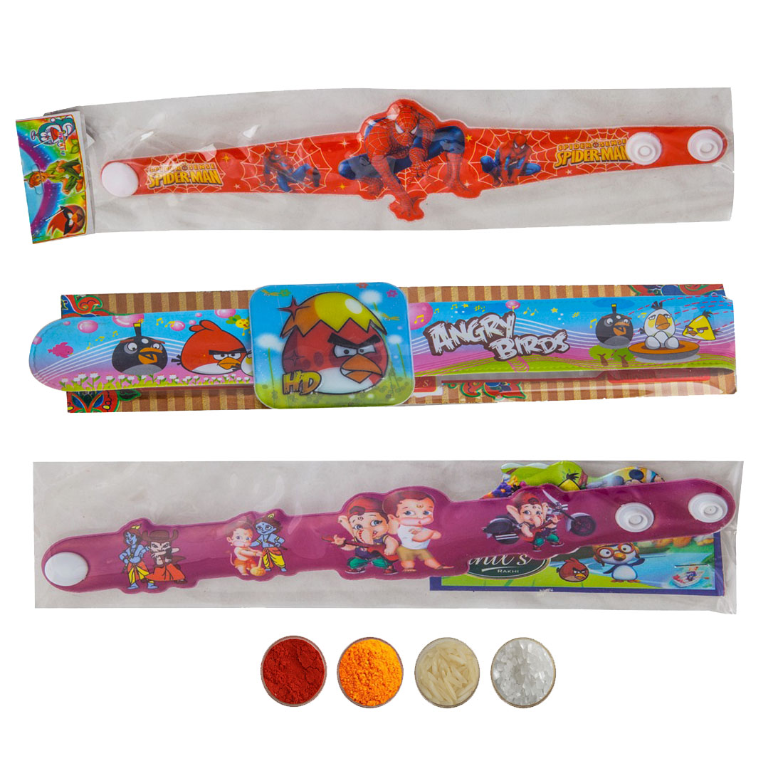 Kid's Rakhi Set of Three