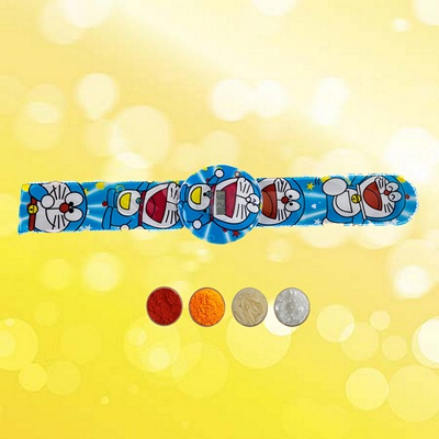 Doraemon Digital Watch Rakhi Band