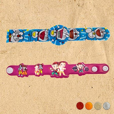 Cartoon Rakhi Set of Two