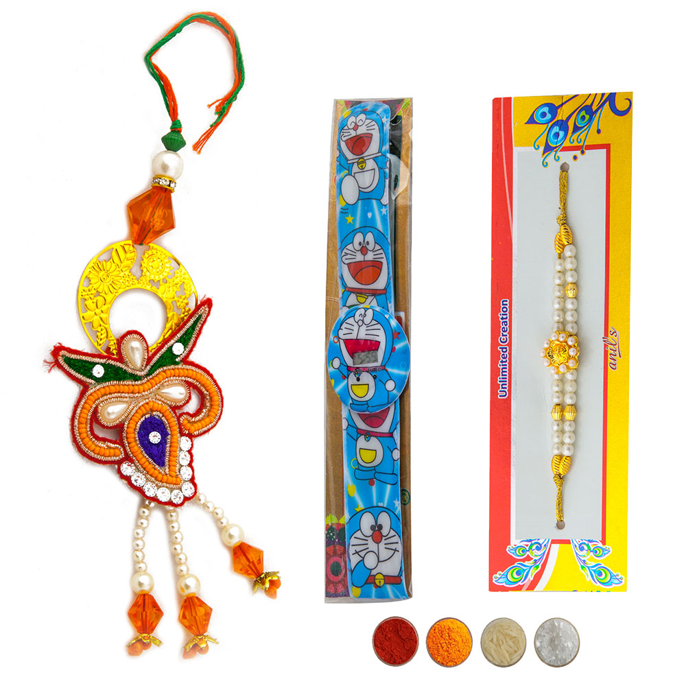 Fancy Family Rakhi Set of Three