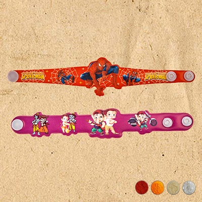 Cartoon Rakhi Set for Kids