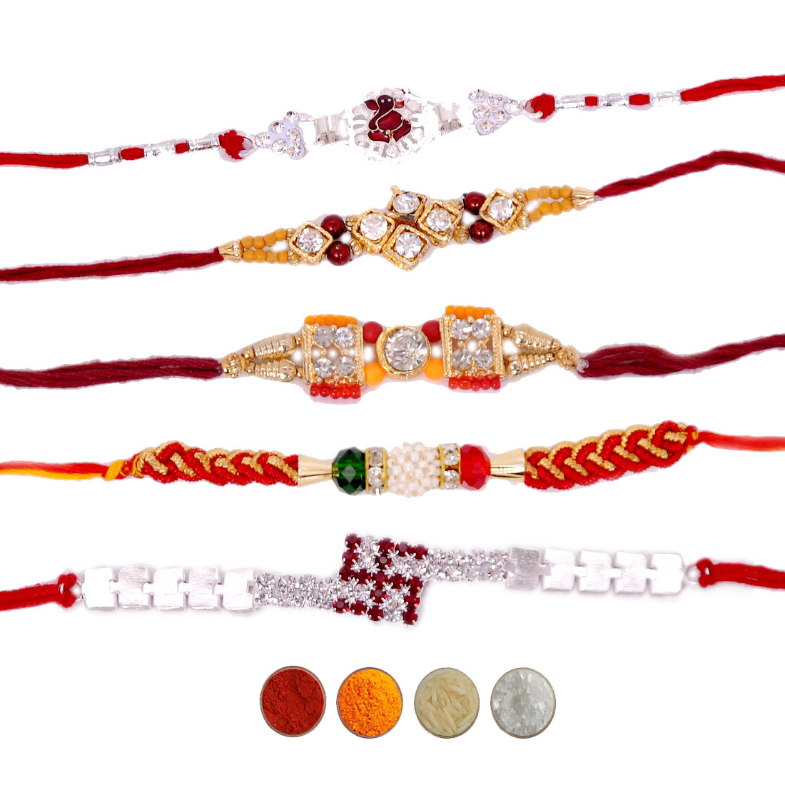 Premium Rakhi Set for Brothers