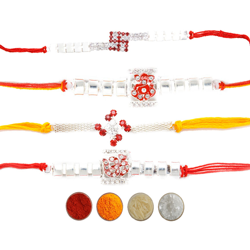 Premium Stone Rakhis for Brothers