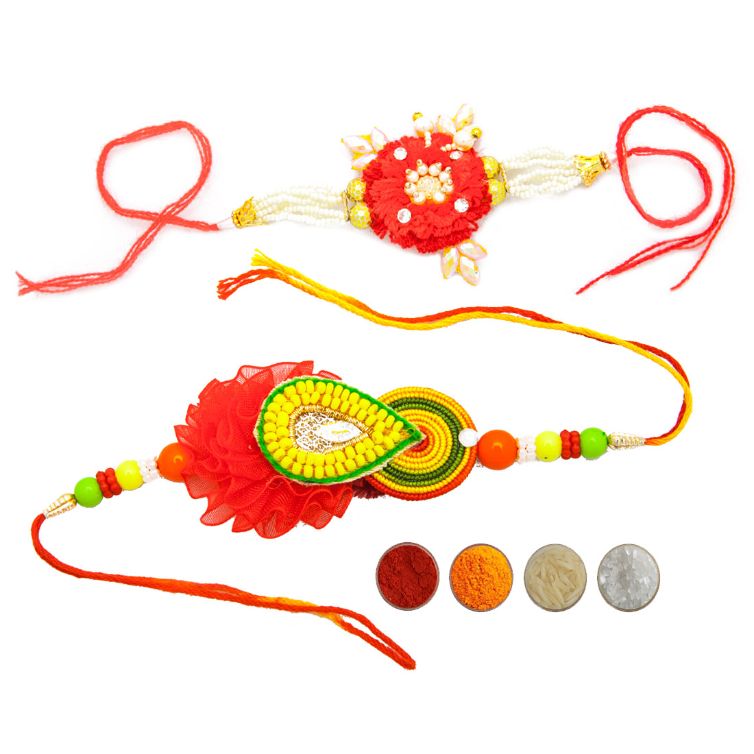 Fancy Rakhi Set of Two for Brothers