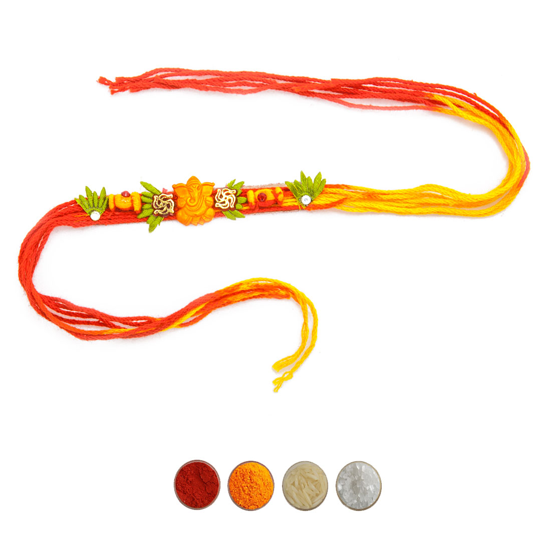 Ganesha Mauli Rakhi Thread for Bhaiya
