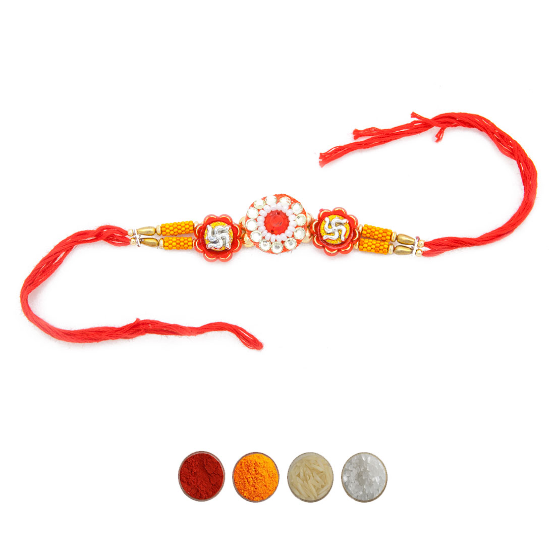 Traditional Rakhi Thread for Bhaiya