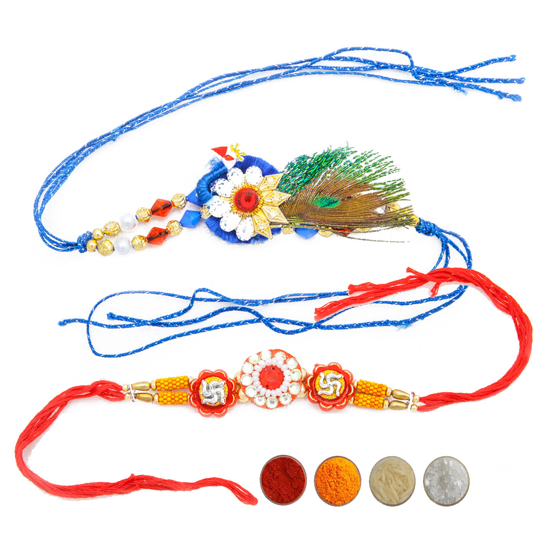 Fancy Designer Rakhi Set for Brothers