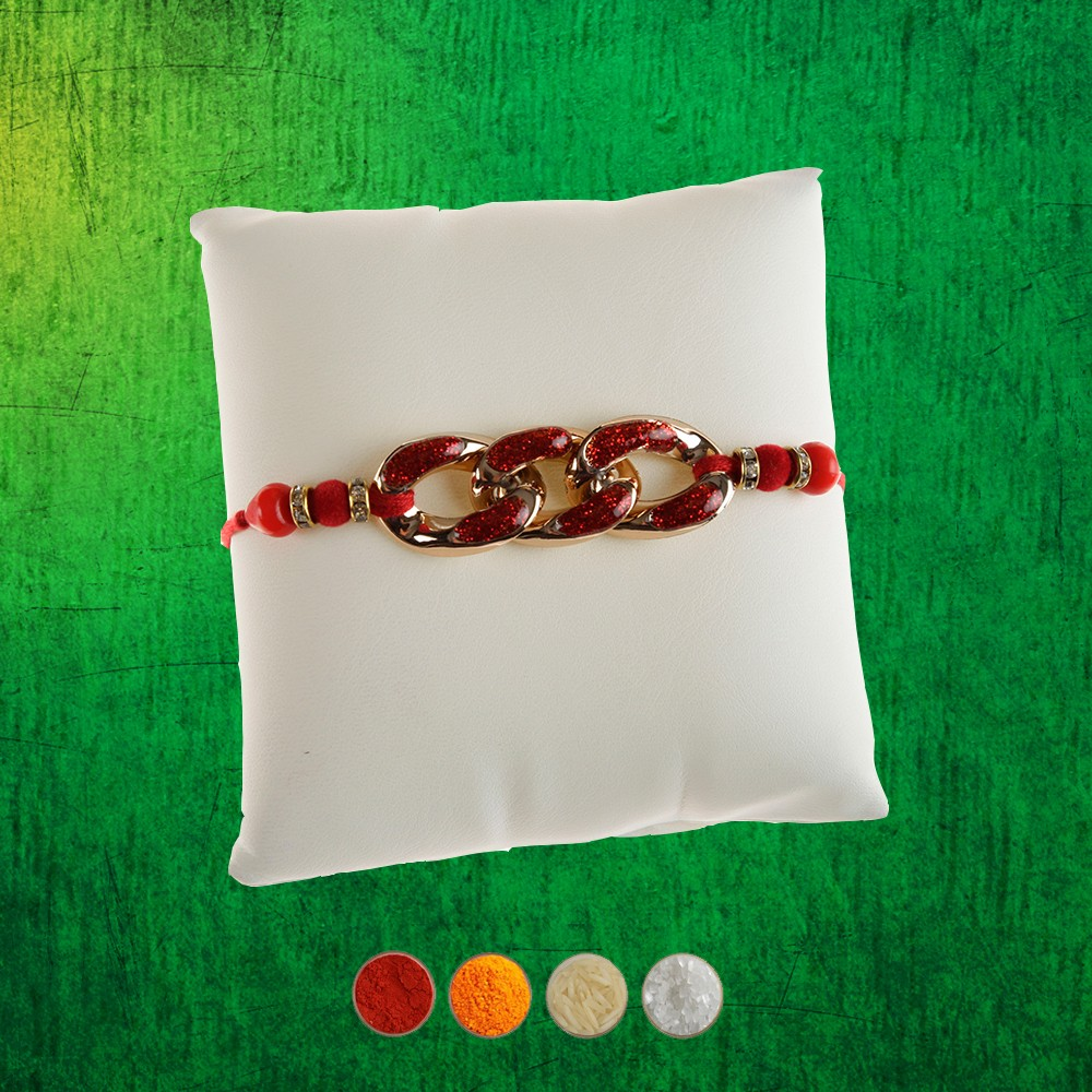 Designer Chain Rakhi Thread