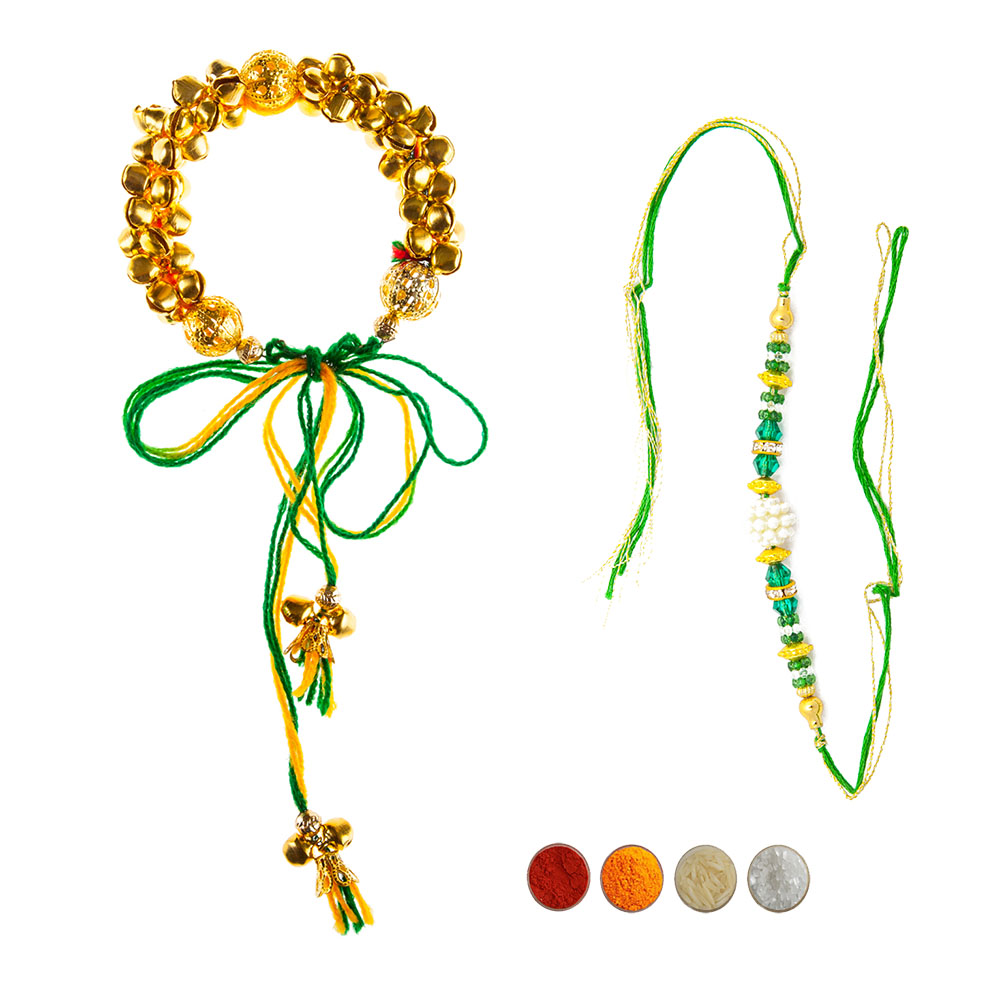 Bhaiya Bhabhi Fancy Rakhi Set