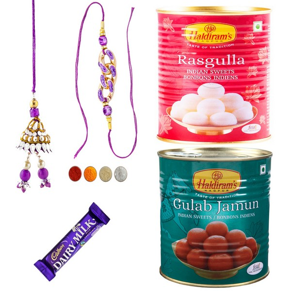 Rakhi Delights for Bhaiya Bhabhi