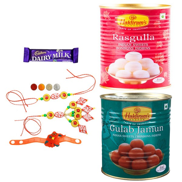 Haldiram's Sweets with Rakhi Set