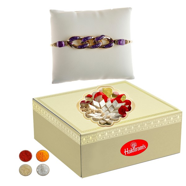 500g Kaju Barfi and Rakhi