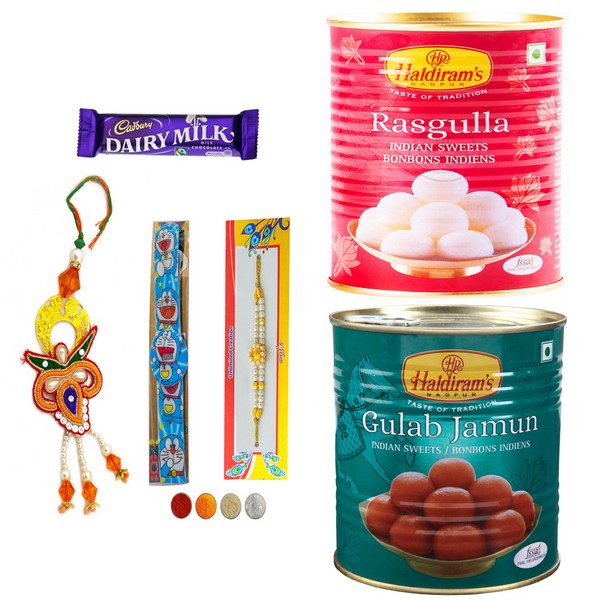 Rakhi Set with Sweets