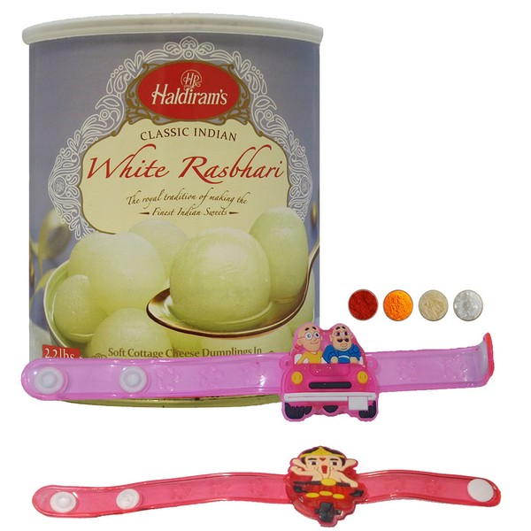Kids Rakhi with Rasbhari