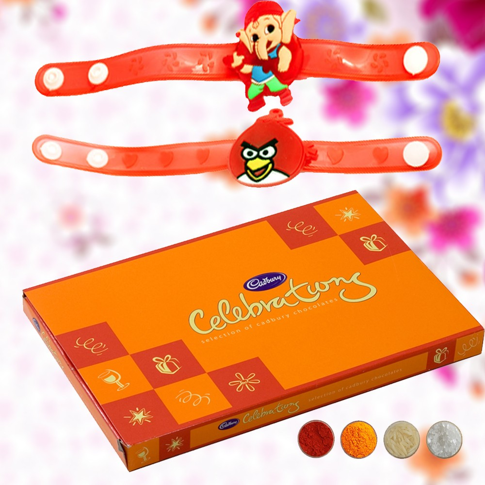 Rakhi Choco Delights for Kids