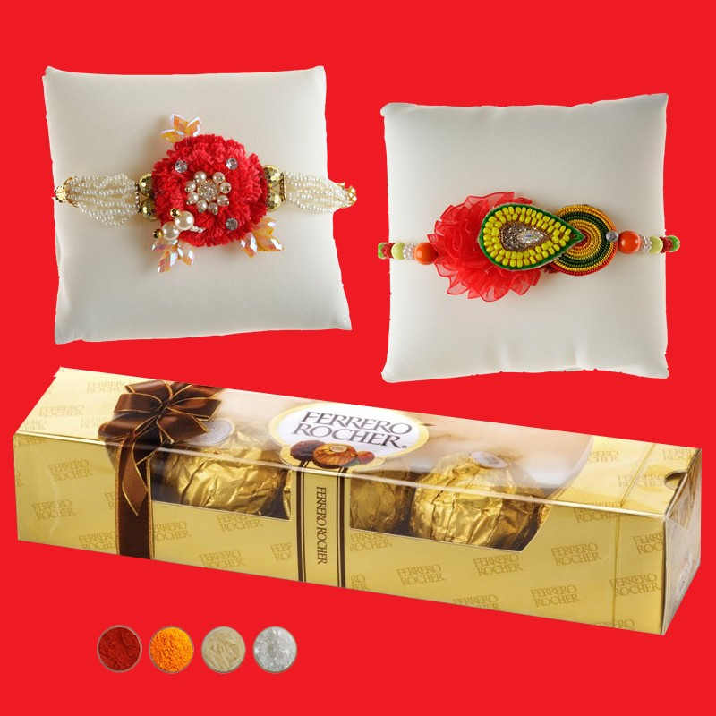 Rocher Delights and Fancy Rakhis
