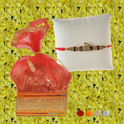 Shree Rakhi with 200g Mixed Dryfruits
