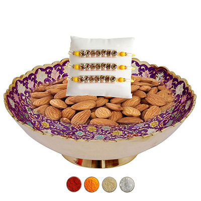 Premium and Healthy Rakhi Hamper
