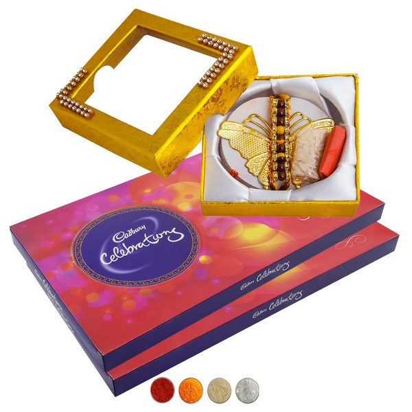 Premium Rakhi with Chocolates