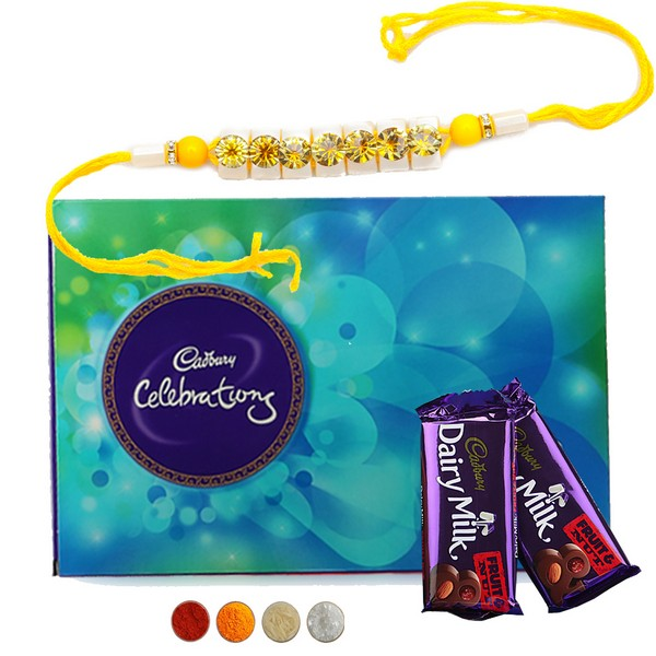 Rakhi with Chocolate
