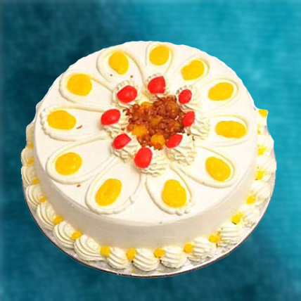 Butterscotch Cake Eggless 1kg