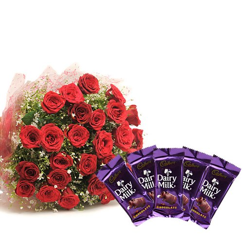 Roses & Chocolates - Diwali Gifts
