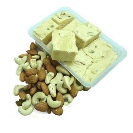 Dry Fruits & Soan Papdi - Diwali Gifts