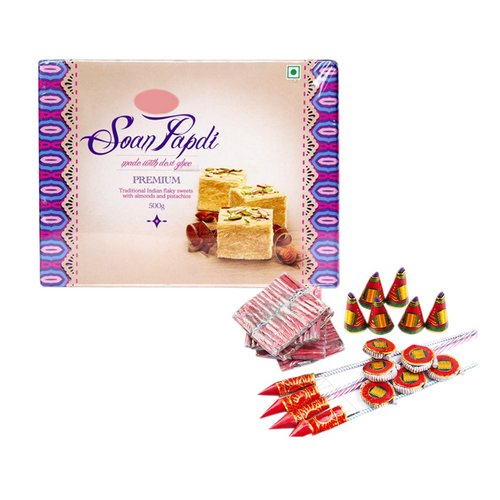 Diwali Sweets & Crackers - Diwali Gifts