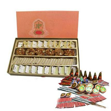 Mix Sweets & Crackers - Diwali Gifts