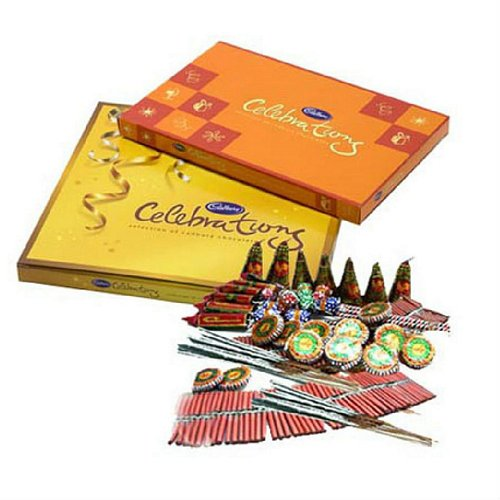 Celebrations With Crackers - Diwali Gifts