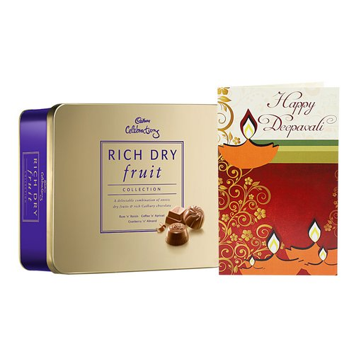Celebrations Box & greeting card - Diwali Gifts
