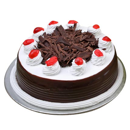 Black Forest Cake Half kg Eggless