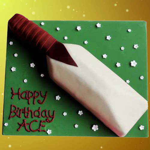 Cricket Bat Cake 1.5 kg