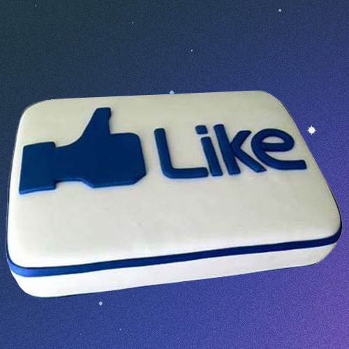 Facebook Customized Cake 2kg