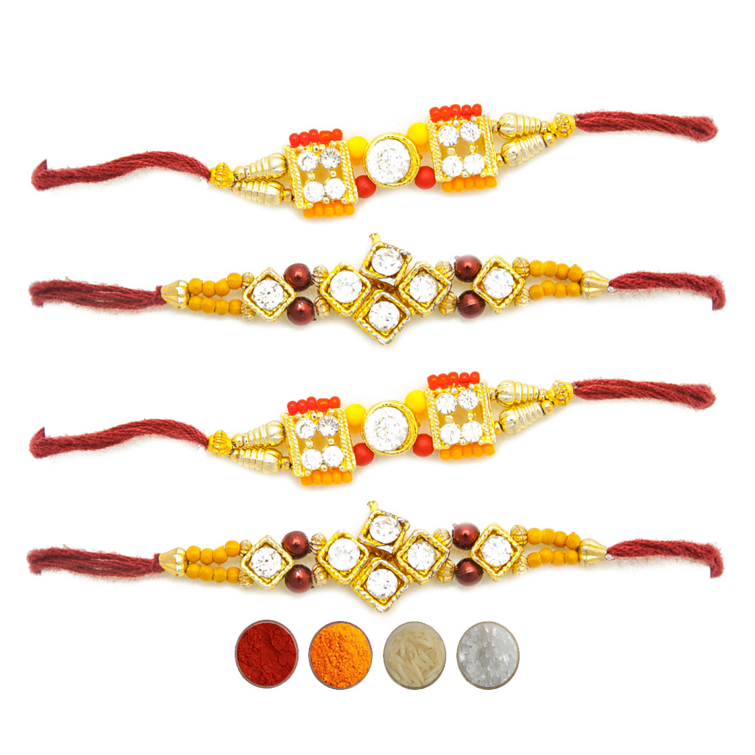 Premium Rakhi Set of Four