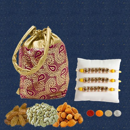 300g Mixed Dryfruits with Rakhi