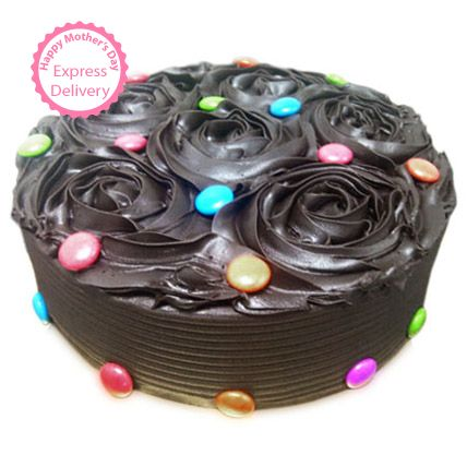 Mothers Day Spl - Chocolate Flower Cake